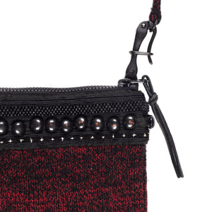 "Undercover Studded Knitted Shoulder Bag - AW09 ""Earmuff Maniac"""