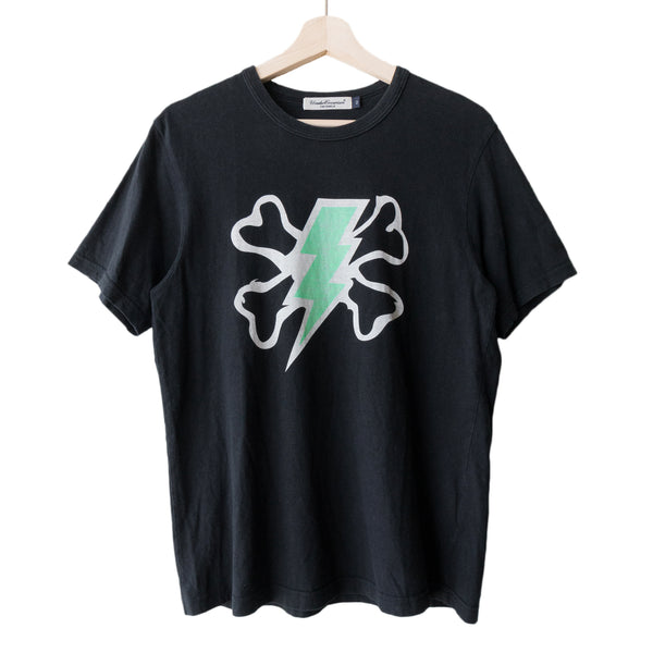 "Undercover Black Chaotic Discord Tee -  SS01 ""Interlocking Panels"""