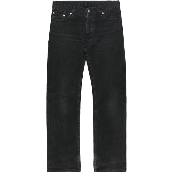 Helmut Lang Black Washed Jeans - 1999