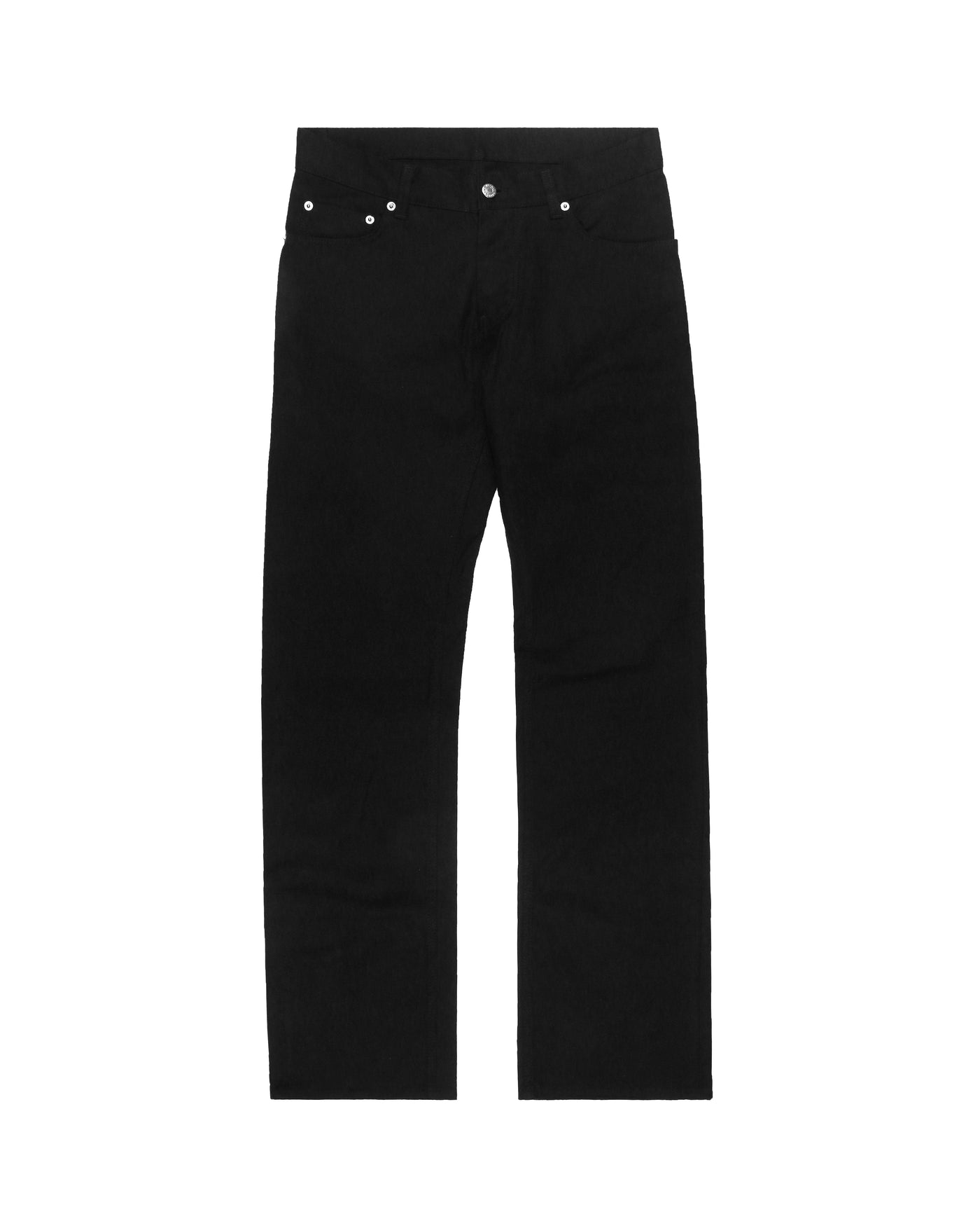 Helmut Lang Cotton Twill Bootcut Jeans - 2000s