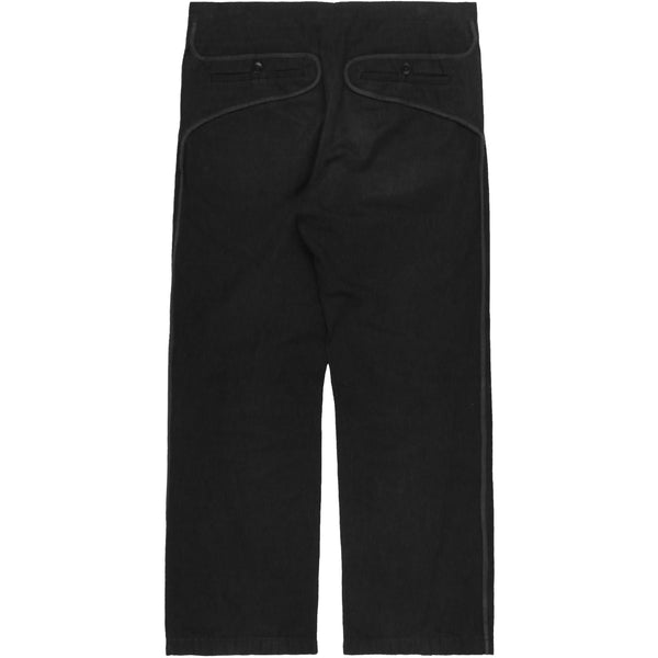 Carol Christian Poell Pinstripe Black Trousers