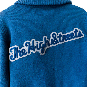 "Number (N)ine ""The High Streets"" Blue Cardigan - AW05 ""The High Streets"