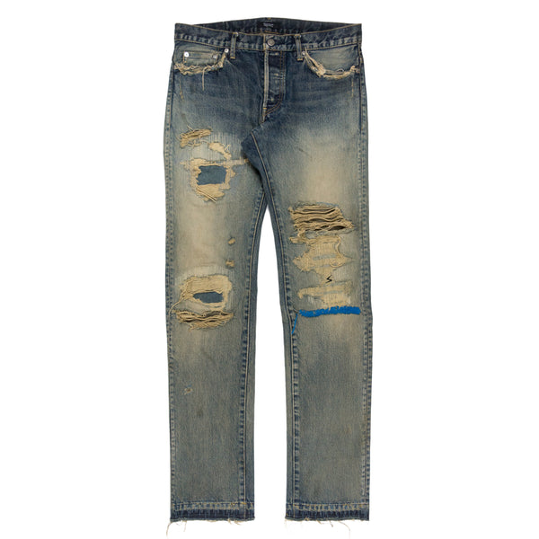 Undercover 68 Blue Yarn Jeans - SS10 Reissue