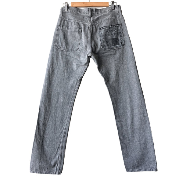 "Undercover Music Knob Jeans - AW07 ""Knit"""
