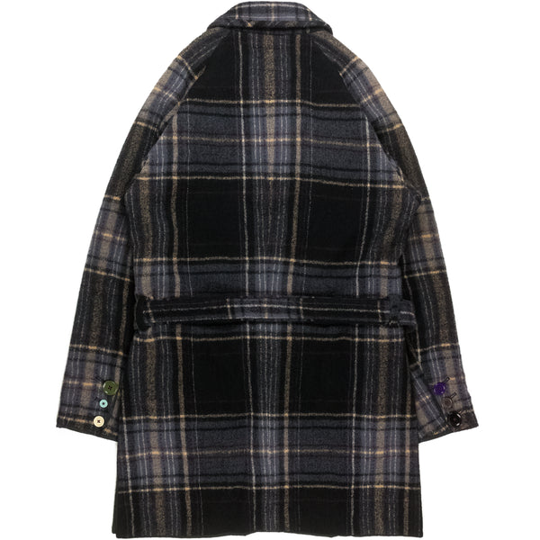 "Undercover Double Breasted Wool Trench Coat - AW04 ""But Beautiful..."""