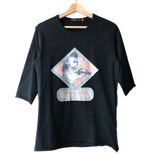 "Undercover Black But Beautiful Tee - SS05 ""But Beautiful Homage To Jan Svankmajer"""