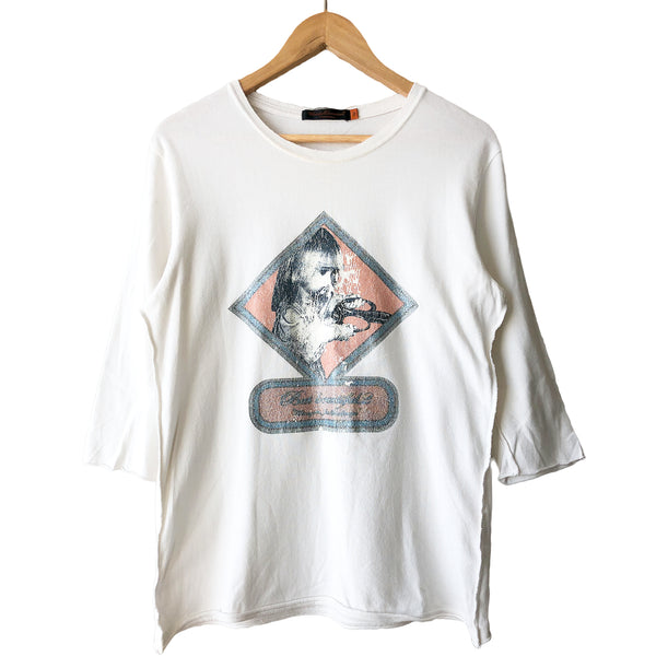 "Undercover White But Beautiful Tee - SS05 ""But Beautiful Homage To Jan Svankmajer"""