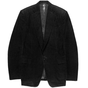 "Carol Christian Poell Corduroy Taped Seam Blazer - SS03 ""Inner Value / At Tamiser"""
