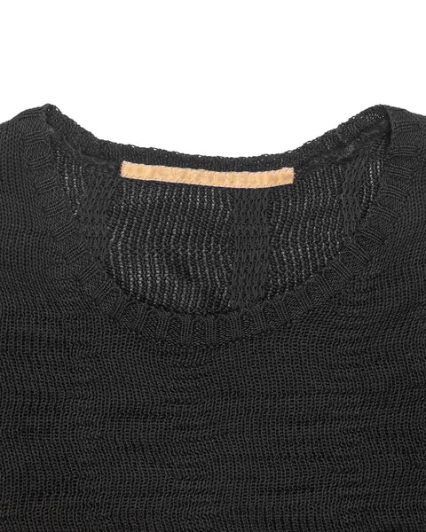 "Carol Christian Poell Ramie Warp Knit Sweater - AW07 ""Disjointed"""