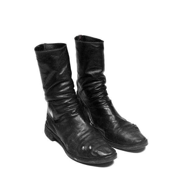 Carol Christian Poell Prosthetic Tornado Zip Boots - AM/2687P-ROOMS-PTC-010