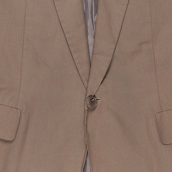 "Carol Christian Poell Beige Overlock Suit - SS05 ""Dispossessed"""