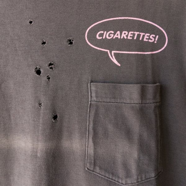 "Number (N)ine Cigarettes Tee Pink - SS01 ""Time Migration"""