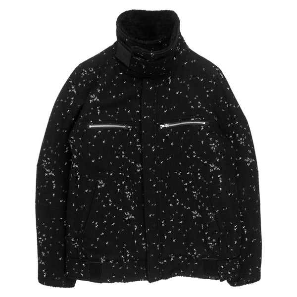 "Undercover Wool Astro Shearling Jacket - AW02 ""Witch's Cell Division"""