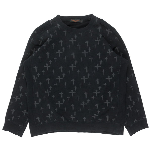 "Undercover Cross Crewneck - AW02 ""Witch's Cell Division"