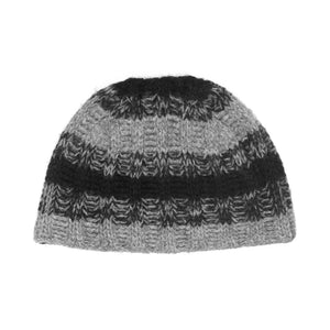 "Dior Homme Grey Wool Beanie - AW06 ""These Grey Days"""