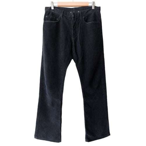 Dior Homme Black Corduroy Jeans - AW05