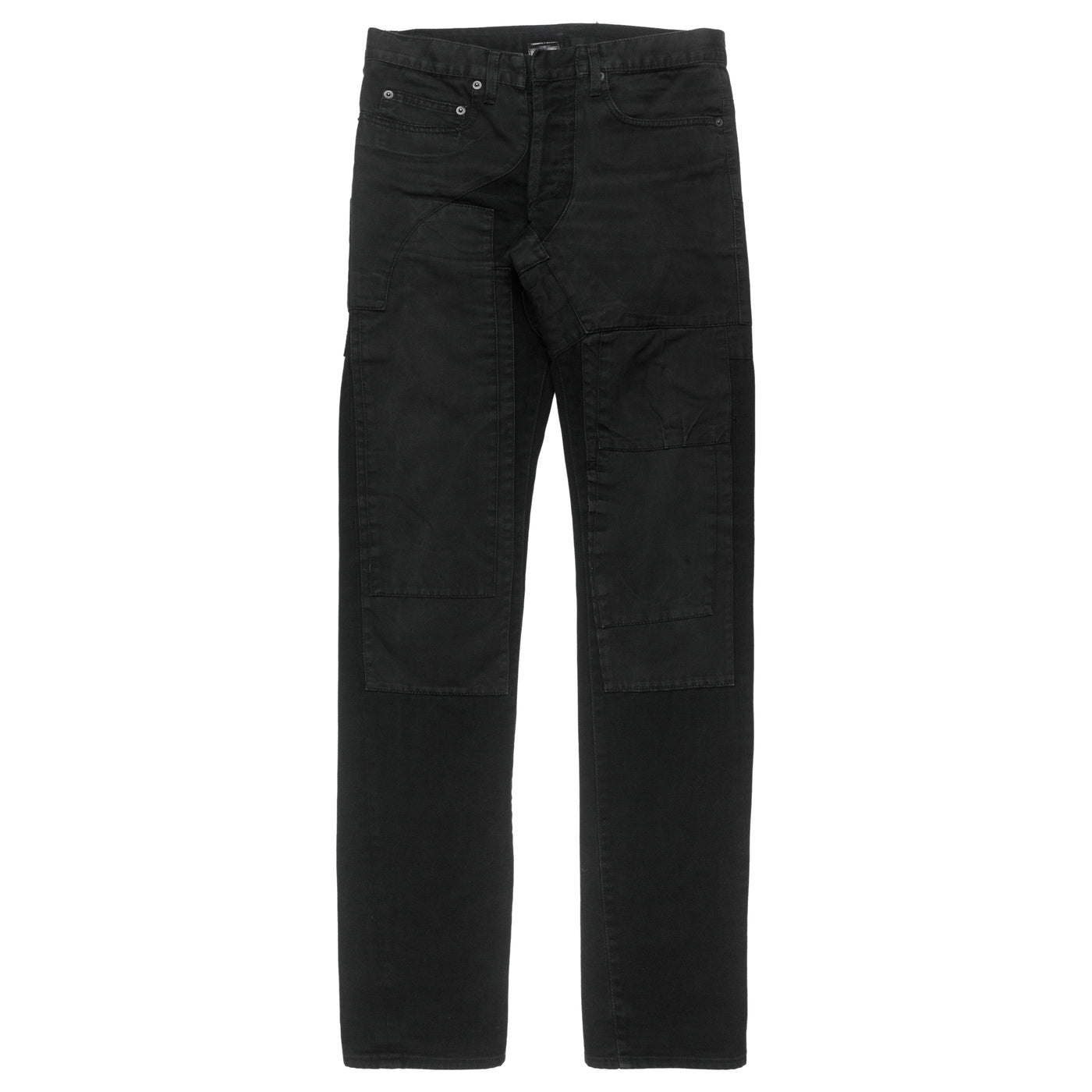 Dior Homme Black Patchwork Denim - AW07