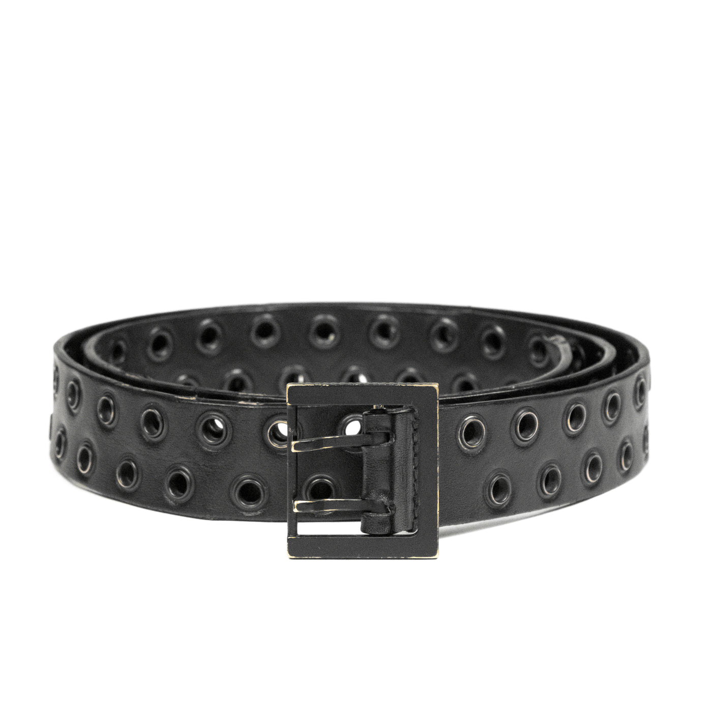 "Dior Homme Double Grommet Belt - SS04 ""Strip"""
