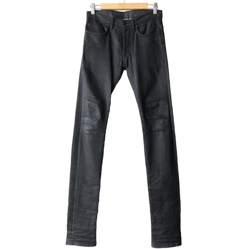 Dior Homme Black Wax Jeans - AW08
