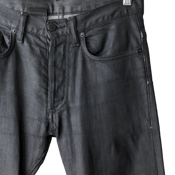 "Dior Homme Black Wax Jeans - AW08 ""Lumiere Du Nord"""