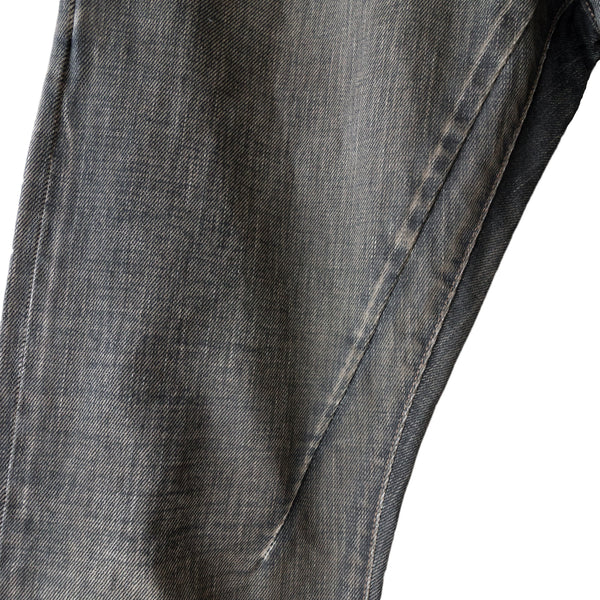Rick Owens Drkshdw Mud Wash Denim