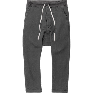 "Rick Owens Wool Drop Crotch Pant - AW13 ""Plinth"""