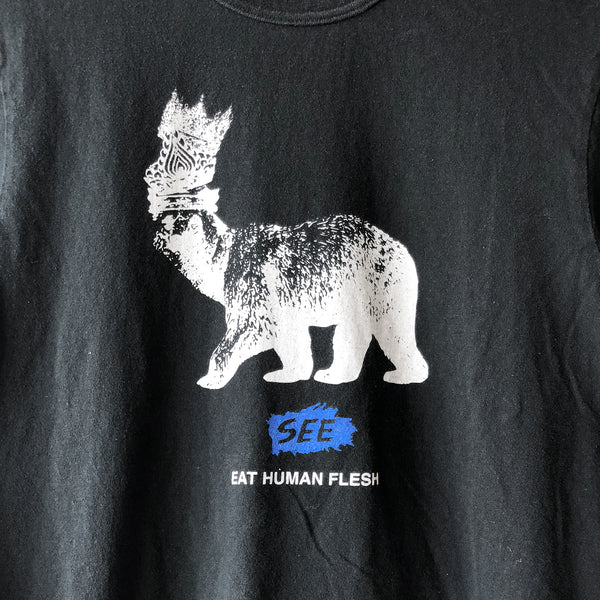 "Undercover ""See Eat Human Flesh"" Tee"