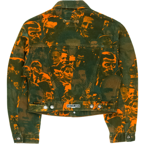 Jean Paul Gaultier Faces Denim Jacket -  AW92