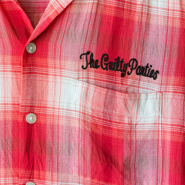 "Wacko Maria ""The Guilty Parties"" Plaid Button Up - SS11"