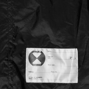 Final Home Black Packable Windbreaker