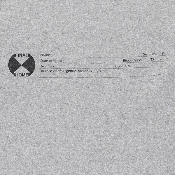 Final Home Emergency Card Sweater Tee