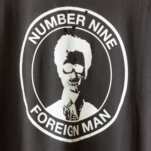 "Number (N)ine ""Foreign Man"" Tee - SS01 ""Time Migration"""