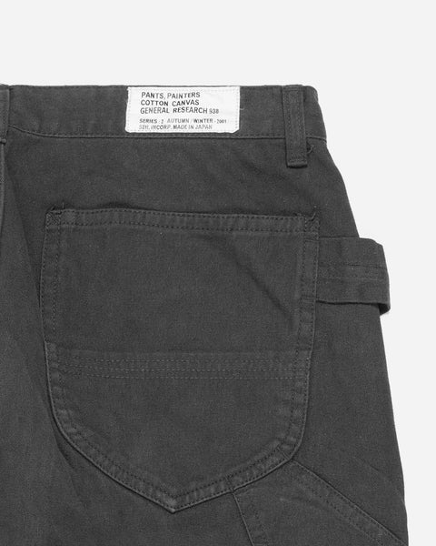 General Research Carbon Grey Double Knee Painters Pant - AW01