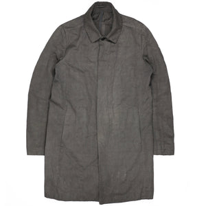 Attachment Kazuyuki Kumagai Carbon Grey Coat