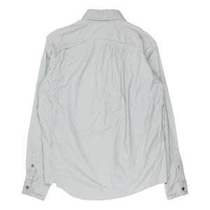 "Undercover Middle Finger Grey Button Up Shirt - SS13 ""Talking Heads"""
