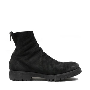 Guidi 796v Reverse Bison Lug Back-Zip Boot
