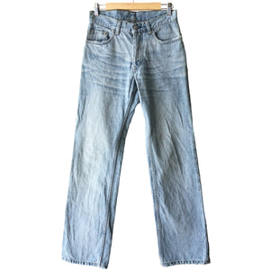 Helmut Lang Wide Leg Denim Jeans