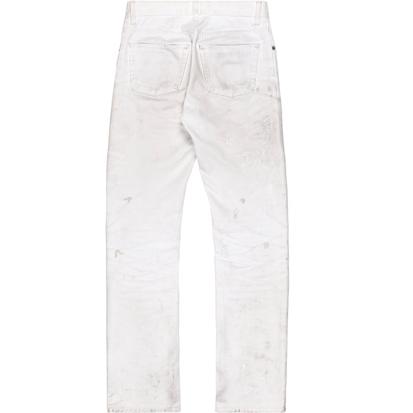 Helmut Lang White Painter Jeans - AW98