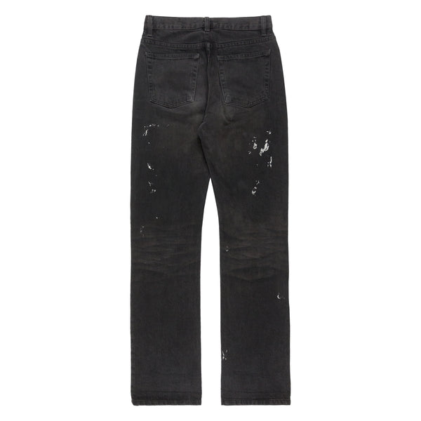 "Helmut Lang Charcoal ""Painter"" Jeans - AW00"