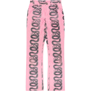 Hysteric Glamour Pink Snake Pant