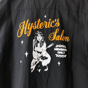 "Hysteric Glamour ""Members Only"" Button Shirt"