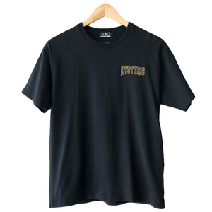 Hysteric Glamour Black Embroidered Tee