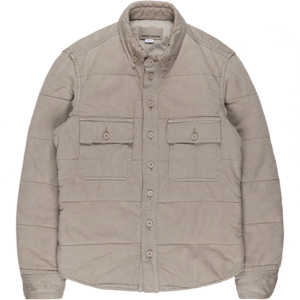 Hussein Chalayan Taupe Insulated Overshirt