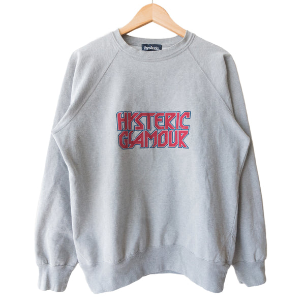 Hysteric Glamour Reflective Logo Crewneck