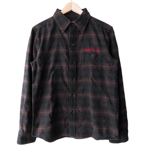 "Wacko Maria Brown ""Drunkard's Dream Rock Steady"" Flannel"