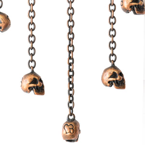 "Number (N)ine Beaded Skull Necklace - SS06 ""Welcome to the Shadow"""