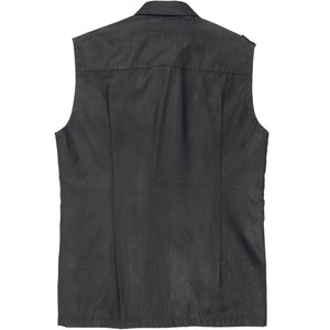 Maison Martin Margiela Artisanal Painted Military Sleeveless Shirt