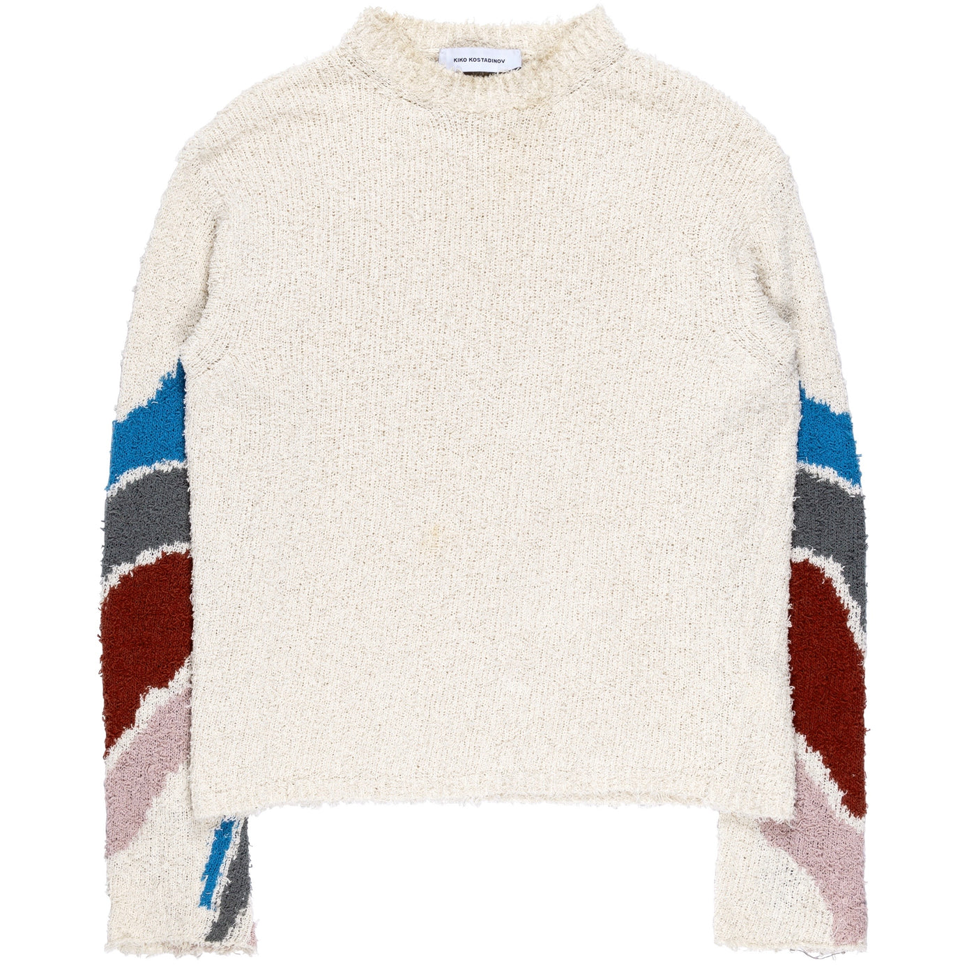 "Kiko Kostadinov Mohair Intarsia Knit Sweater - AW18 ""Obscured By Clouds"""