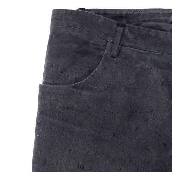 Label Under Construction Navy Washi J-Cut Pant