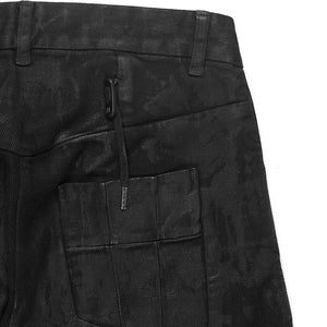Boris Bidjan Saberi Waxed J-Cut Denim Jeans
